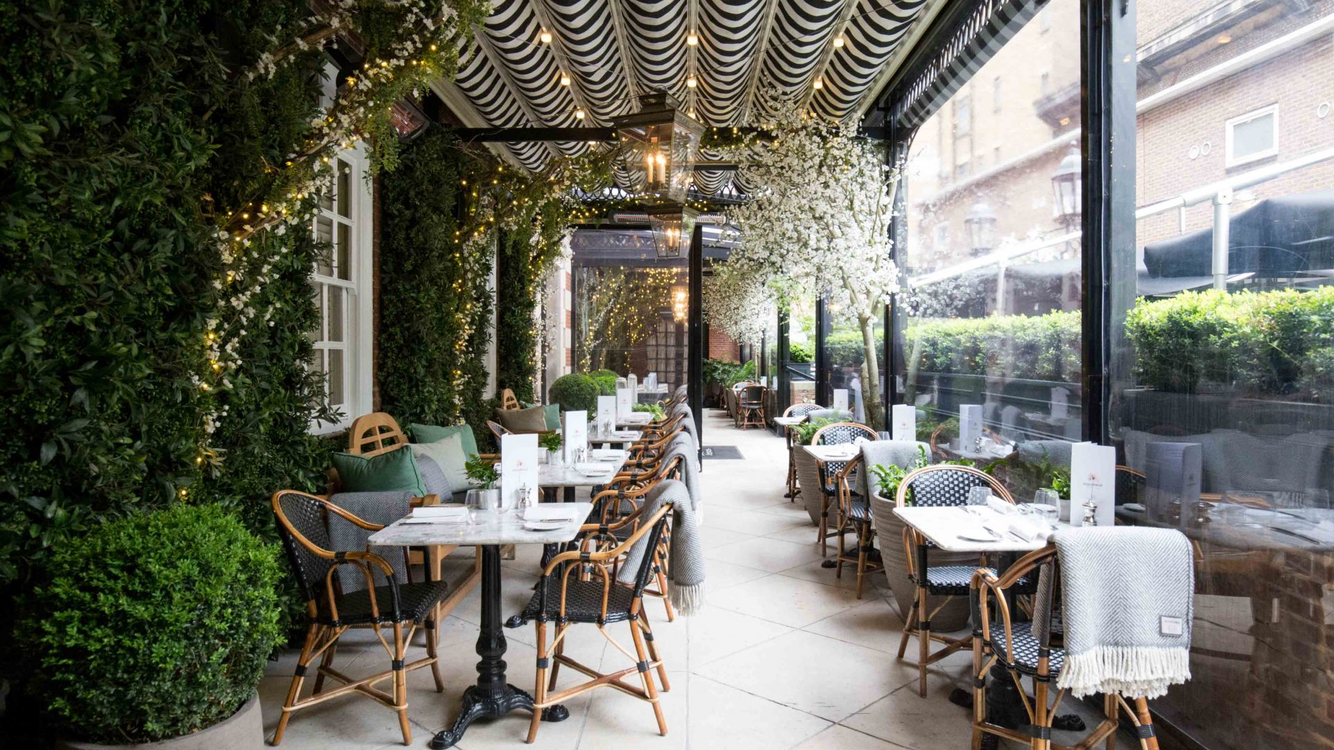 Dalloway terrace bar is an elegant poetic and for Restaurant with terrace