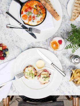 Al Fresco Breakfasts, Any Eggscuse