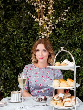 Candice Brown Afternoon Tea for Dalloway Terrace