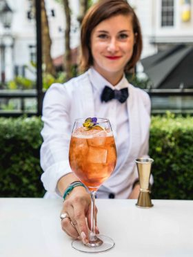 Les Femmes Du Bar Patio Takeover by St Germain