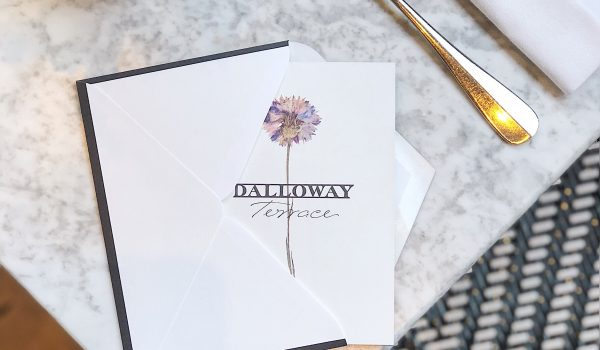 Gift a  Dalloway Terrace experience with one of our Gift Cards!